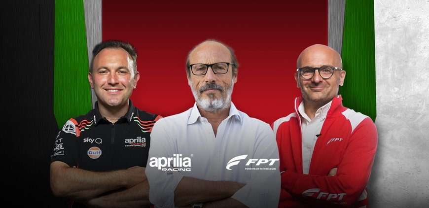 GUIDO MEDA INTERVIEWS FPT INDUSTRIAL AND APRILIA RACING ENGINE EXPERTS FOR THE NEW FPT WEBCAST PLATFORM