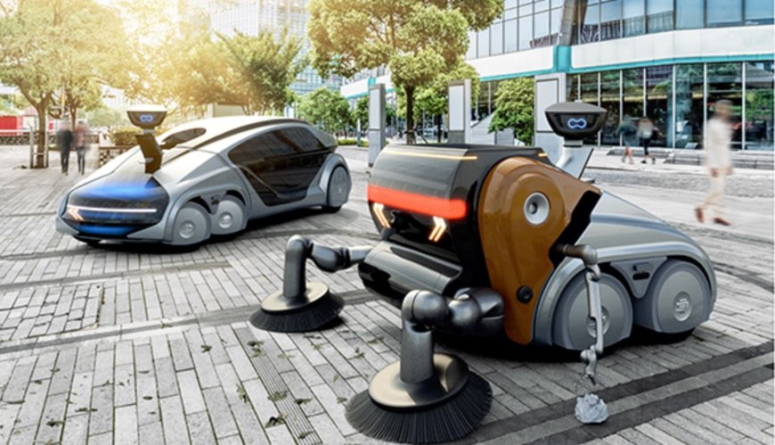 The EDAG Group presents further developments in its EDAG CityBot mobility concept