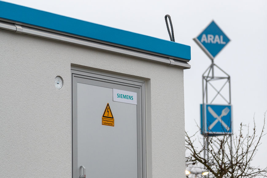 Siemens and Aral ready gas stations for mobility of the future