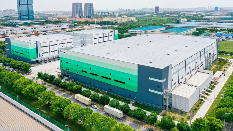 NEW CHINA LOGISTICS HUB IN SUZHOU